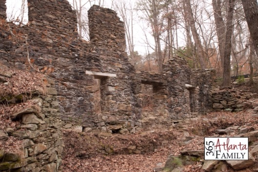 Day 14 Sope Creek Paper Mill Ruins from 365 Atlanta Family - an idea a day for family fun