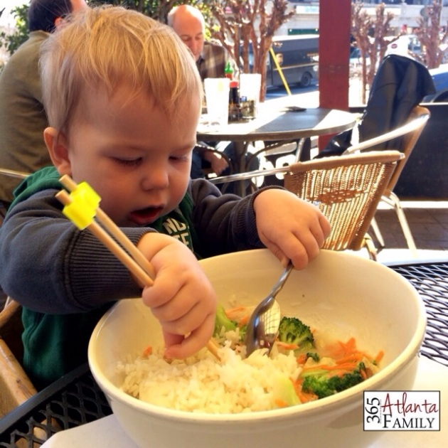 Day 31 - Doc Cheys Noodle House - Kid Friendly Restaurants in Atlanta - ideas from 365 Atlanta Family
