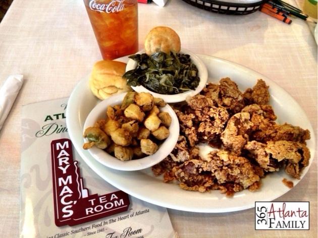 Mary Mac's Tea Room - restaurants for kids - ideas from 365 Atlanta Family