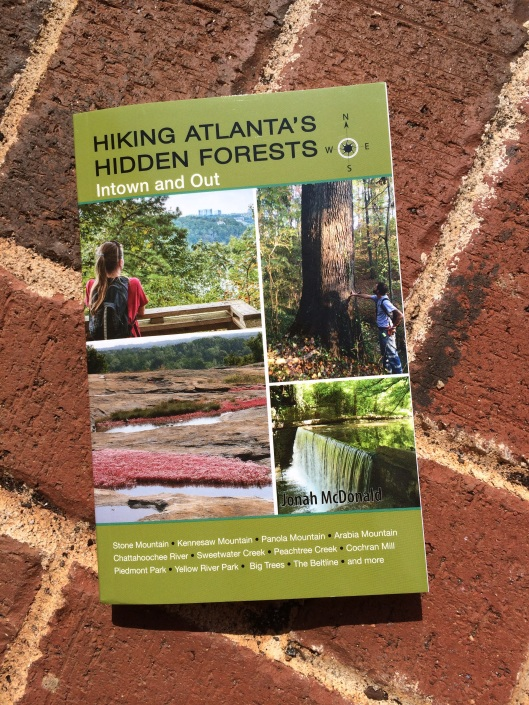 Hiking Atlanta's Hidden Forests - a great book and giveaway from 365 Atlanta Family