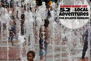 Things to do in Atlanta this summer - ideas from 365 Atlanta Family