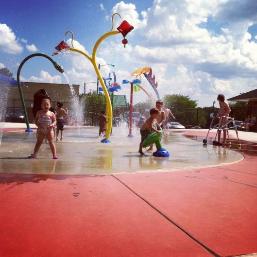 Splash Pads - ideas from 365 Atlanta Family
