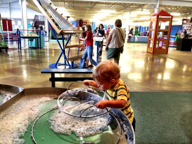 Sci-Quest Hands-On Science Center in Huntsville - vacation ideas for Atlanta Families