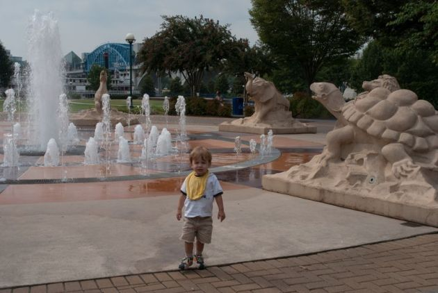 Coolridge Park Chattanooga - summer vacation ideas for Atlanta families