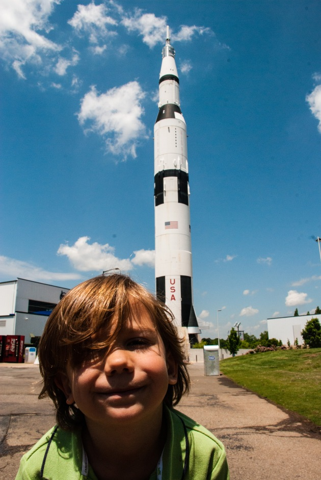 US Space and Rocket Center Huntsville - Summer vacation Ideas for Atlanta Families