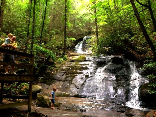 Fall Branch Falls Blue Ridge GA