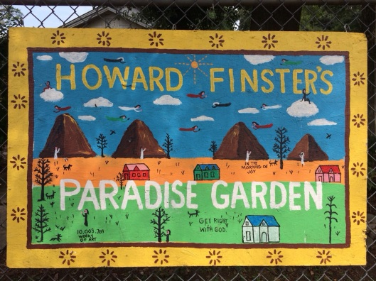 Howard Finster's Paradise Garden in Summeriville - ideas from 365 Atlanta Family
