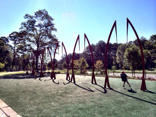 Playable Art Park - ideas from 365 Atlanta Family