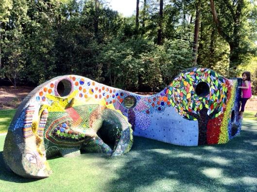 Playable Art Park - ideas from 365 Atlanta Family